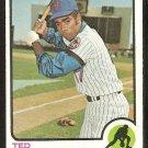 New York Mets Ted Martinez 1973 Topps Baseball Card # 161 nr mt