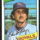 Kansas City Royals Eduardo Rodriguez 1980 Topps Baseball Card # 273 nr mt