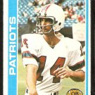New England Patriots Steve Grogan 1978 Topps Football Card # 485 ex/em