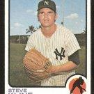 New York Yankees Steve Kline 1973 Topps Baseball Card # 172 vg