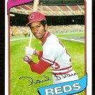 Cincinnati Reds Paul Blair 1980 Topps Baseball Card # 281 nr mt
