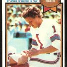 NEW ENGLAND PATRIOTS JOHN SMITH 1979 TOPPS # 16 EX