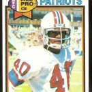 New England Patriots Mike Haynes 1979 Topps Football Card # 35 vg/ex