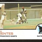 San Francisco Giants Tito Fuentes 1973 Topps Baseball Card # 236 ex