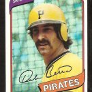 Pittsburgh Pirates Dale Berra 1980 Topps Baseball Card # 292 nr mt