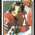 New England Patriots Bill Lenkaitis 1979 Topps Football Card # 116 ex