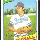 Kansas City Royals Larry Gura 1980 Topps Baseball Card # 295 nr mt