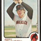 SAN FRANCISCO GIANTS JERRY JOHNSON 1973 TOPPS # 248 EX MT