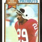 New England Patriots Harold Jackson 1979 Topps Football Card # 321 ex