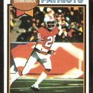 New England Patriots Raymond Clayborn 1979 Topps Football Card # 361 vg