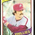Philadelphia Phillies Mike Anderson 1980 Topps Baseball Card # 317 nr mt