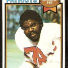 New England Patriots Tony McGee 1979 Topps Football Card # 441 vg/ex