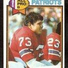 New England Patriots John Hannah 1979 Topps Football Card # 485 ex