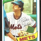 New York Mets Richie Hebner 1980 Topps Baseball Card # 331