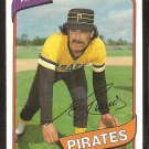 Pittsburgh Pirates Enrique Romo 1980 Topps Baseball Card # 332 ex