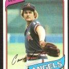 California Angels Carney Lansford 1980 Topps Baseball Card # 337 nr mt