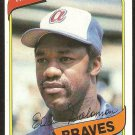 Atlanta Braves Buddy Solomon 1980 Topps Baseball Card # 346 nr mt