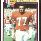 DENVER BRONCOS LYLE ALZADO 1979 TOPPS # 420 VG/EX