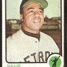 Detroit Tigers Willie Horton 1973 Topps Baseball Card # 433 good
