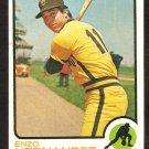 San Diego Padres Enzo Hernandez 1973 Topps Baseball Card # 438 ex