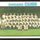 Chicago Cubs Team Card 1973 Topps Baseball Card # 464 nr mt oc