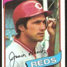 Cincinnati Reds Junior Kennedy 1980 Topps Baseball Card # 377 nr mt