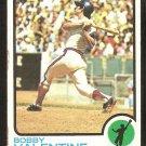 California Angels Bobby Valentine 1973 Topps Baseball Card # 502 vg