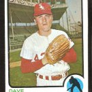 Chicago White Sox Dave Edmonds 1973 Topps Baseball Card # 534