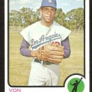 Los Angeles Dodgers Von Joshua 1973 Topps Baseball Card # 544