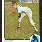 Baltimore Orioles Mickey Scott 1973 Topps Baseball Card # 553