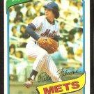 New York Mets Pate Falcone 1980 Topps Baseball Card # 401 vg/ex