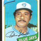 Toronto Blue Jays Tony Solaita 1980 Topps Baseball Card # 407 nr mt