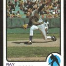 Milwaukee Brewers Ray Newman 1973 Topps Baseball Card # 568 nr mt