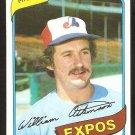 Montreal Expos Bill Atkinson 1980 Topps Baseball Card # 415 ex mt