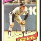 CLEVELAND INDIANS DUANE KUIPER 1980 TOPPS # 429 NR MT