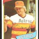 Houston Astros Joe Niekro 1980 Topps Baseball Card #437 nr mt