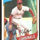 St Louis Cardinals Mike Phillips 1980 Topps Baseball Card #439 nr mt