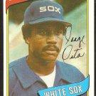 Chicago Whiye Sox Jorge Orta 1980 Topps Baseball Card #442 nr mt