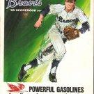 San Francisco Giants Atlanta Braves 1969 Program Willie Mays Hank Aaron Satchel Paige