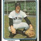 New York Yankees Gerry Moses 1974 Topps Baseball Card # 19 vg