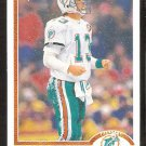 Miami Dolphins Dan Marino 1991 Upper Deck Football Card