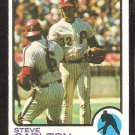 Philadelphia Phillies Steve Carlton 1973 Topps Baseball Card # 300 nr mt
