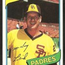 San Diego Padres Mickey Lolich 1980 Topps Baseball Card # 459 nr mt