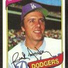 Los Angeles Dodgers Rick Monday 1980 Topps Baseball Card # 465 nr mt