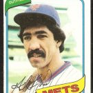 New York Mets Gil Flores 1980 Topps Baseball Card # 478 nr mt