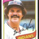 Cleveland Indians Bo Diaz 1980 Topps Baseball Card # 483 nr mt