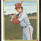 Philadelphia Phillies Craig Robinson 1974 Topps Baseball Card # 23 vg