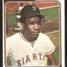 San Francisco Giants Bobby Bonds 1974 Topps Baseball Card # 30 vg
