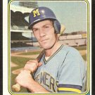 Milwaukee Brewers Bobby Heise 1974 Topps Baseball Card # 51 g/vg