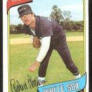 Chicago White Sox Rich Wortham 1980 Topps Baseball Card # 502 nr mt